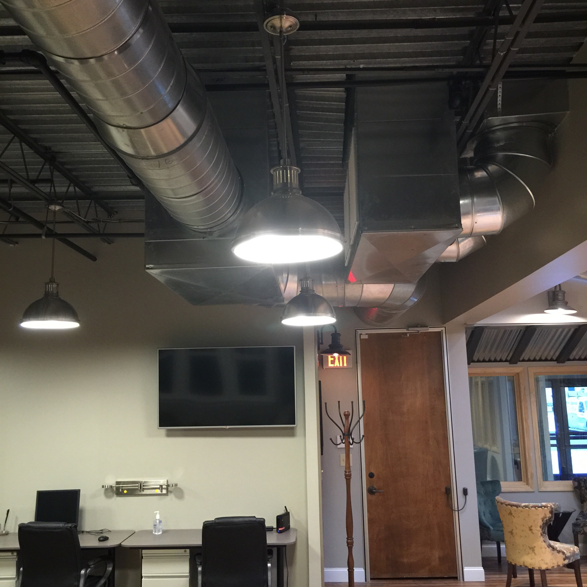how to connect round ductwork