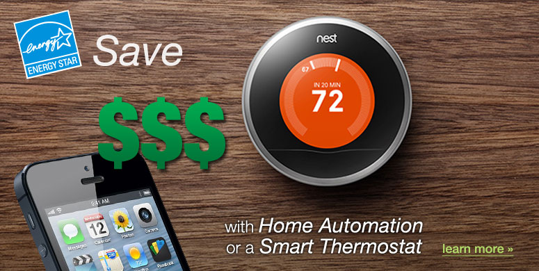 home automation and smart thermostats